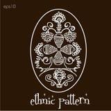 Этническая татуировка графиков яичка картины Стоковое Изображение