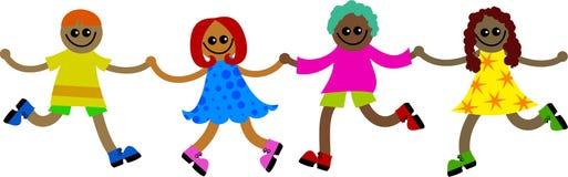 этнические малыши Стоковое Изображение