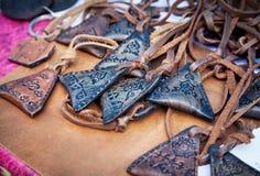 Этнические талисман в рынке Стоковая Фотография