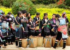 Этнические люди в Вьетнаме Стоковые Фотографии RF