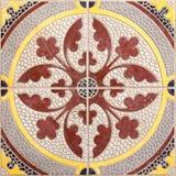 Этнический арабский дизайн плиток картины орнаментов Стоковые Фото