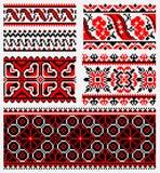Этнический комплект вышивки urkaine Стоковое Изображение