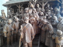 Этнический музей в Киеве, Украине (Pirogovo) Стоковое фото RF