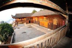 Этнический дом TuJia Стоковая Фотография