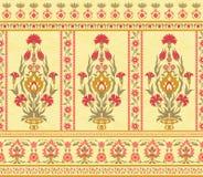 Этнический цветочный узор стиля Стоковое фото RF