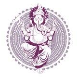 этническое изображение иллюстрация штока