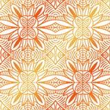 Этническое происхождение конспекта племенное декоративное орнаментальное иллюстрация вектора