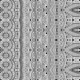Этническое происхождение абстрактного вектора племенное иллюстрация вектора