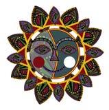 этническое солнце Стоковое Фото