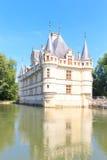Этот замок был построен в столетии XVIth Стоковые Фотографии RF