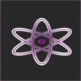 Атом символа Стоковая Фотография RF