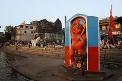 Этот идол лорда Maruti стоковое изображение