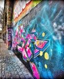 Это граффити на стене стоковые изображения rf