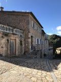 Это деревня, деревня Biniaraix стоковая фотография