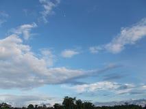 Это небо стоковое изображение rf