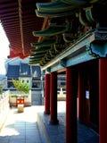Это пейзаж улицы старинного здания в Huizhou, Китае стоковое изображение rf