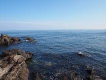 Это фото было принято на взморье в острове Jeju, Южной Корее стоковые изображения