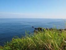 Это фото было принято на взморье в острове Jeju, Южной Корее стоковые фотографии rf