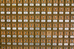Множественные почтовые отделения Стоковое Изображение RF