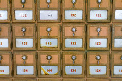 Множественные почтовые отделения Стоковое фото RF