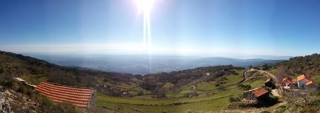Это midland Португалии Стоковые Фото