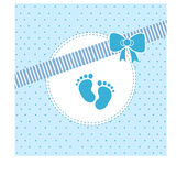 Это newborn мальчик Стоковая Фотография RF