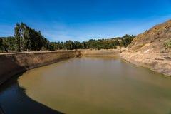 Эфиопия, Axum, руины ванн ферзя Saba стоковое фото rf