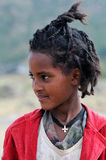 эфиопская девушка Стоковые Фотографии RF