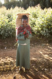 Эфиопская девушка Стоковое фото RF