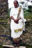 Эфиопская женщина Стоковые Изображения RF