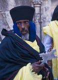 Эфиопская святейшая церемония пожара Стоковое фото RF