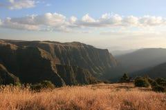 эфиопские гористые местности Стоковые Фотографии RF