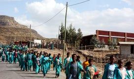 Эфиопские ребеята школьного возраста стоковое фото rf