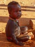 Эфиопский мальчик Стоковые Изображения
