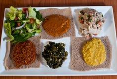 эфиопский образец плиты Стоковое фото RF