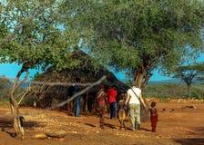 Эфиопский дом Стоковое Фото