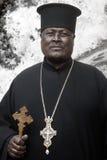 Эфиопский отец Стоковое Фото