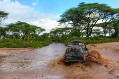 Эфиопский переход Стоковые Изображения RF