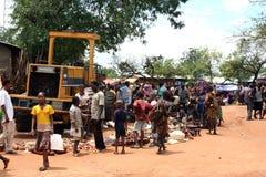 эфиопский рынок Стоковая Фотография