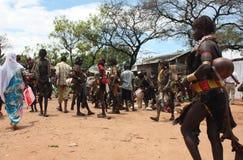 эфиопский рынок Стоковая Фотография RF