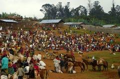 Эфиопский рынок Стоковые Фотографии RF