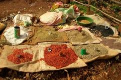 Эфиопский рынок Стоковые Изображения