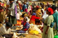 Эфиопский рынок Стоковые Фото