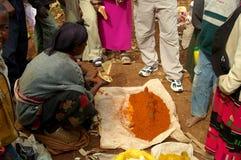 Эфиопский рынок Стоковое Фото