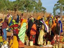 Эфиопский рынок Стоковые Изображения RF