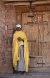 эфиопский священник 2 Стоковые Фото
