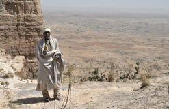 эфиопский священник 4 Стоковая Фотография