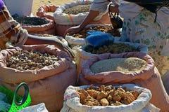 Эфиопский уличный рынок Стоковое Изображение