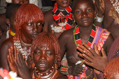 Эфиопское замужество Стоковые Фото