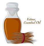 Эфирное масло Vetiver Стоковое Фото